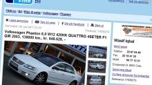 VW Phaeton: Verditap 1,3 millioner kroner