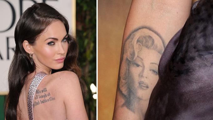 Megan Fox ønsker å fjerne en tatovering! thumbnail