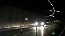 82-åring styrte etter lysene i tunneltaket