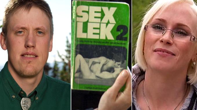 Ragnar Alander fikk seg et aldri så lite sjokk av sex-boka kåte Bente Fremo hadde lagt under dyna! thumbnail