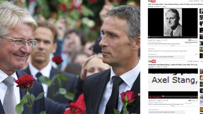 Jens Stoltenberg og Fabian Stang hetses for nazi-slektskap! thumbnail