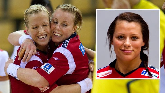 Livechat med Nora Mørk under kampen mot Sverige