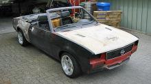 Opel Ascona V8 cabriolet: Denne drømmebilen er 20 år forsinket