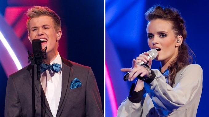 «Idol»-finalen 2011:Slik stemmer du på Vegard og Jenny