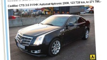 Cadillac CTS: 72 prosent verditap etter tre år