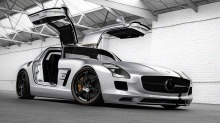 "Mercedes SLS Silver Wing: Når du synes en Mercedes SLS AMG blir litt ""vanlig""..."