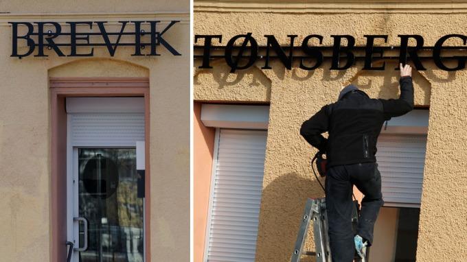 Nazibutikk endret navn fra Brevik til Tønsberg, det liker ikke folk i Tønsberg! thumbnail