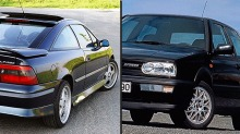Calibra eller Golf VR6: Hvilken er best?
