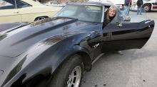 Rita fikk oppfylt Corvette-drømmen