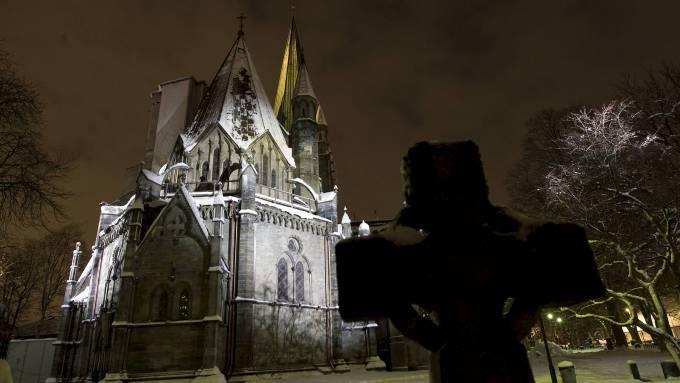 Habilidades: Catedral de Nidaros ya no es por la religión del Estado noruego cuando el estado y la iglesia separada.