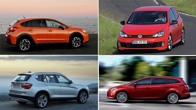 Trenden i mai er flere biler med bensinmotor og at firehjulstrekk er populært som aldri før.