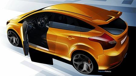 Dette er Ford Focus ST. Den nye RS skal bli enda råere!