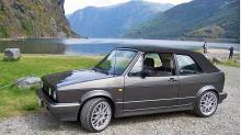 Bilen min: VW Golf Cabriolet: Christian slapp med skrekken