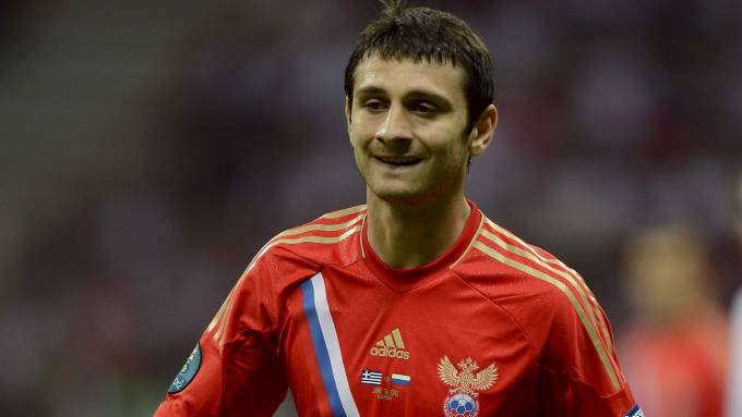 TIL SPURS: Russlands Alan Dzagoev.