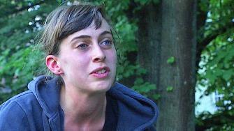 NYSGJERRIG: 22 år gamle Elida kjente ingen rumenske tiggere selv. Hun ville gjøre sine egne erfaringer og bodde én uke på gaten sammen med dem.