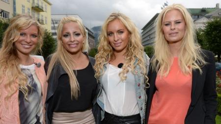 TIGERSTADEN: Mari, Linni, Carina og Therese får sitt eget realityshow på TV 2 Bliss til høsten.