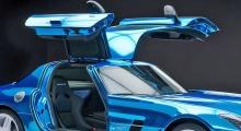 Mercedes SLS AMG Electric Drive: Denne superbilen er perfekt for Norge