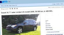 Suzuki XL7: Her kan du sikre deg en super-sjelden SUV
