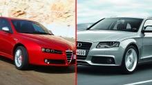Broomduellen Audi A4 vs. Alfa Romeo 159: Helt A4 - eller noe som skiller seg ut?
