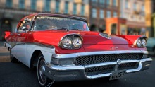 1958 Ford Fairlane: En gang hverdagslig - nå begynner den å bli sjelden