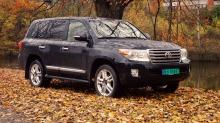 TEST: Toyota Landcruiser 200 V8: Når du åpner dørene får du en overraskelse