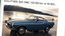 Volvo P1800: Denne designbomben drømmer mange om