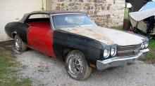 Chevrolet Chevelle SS: Denne restaureringen startet da ABBA toppet hitlistene