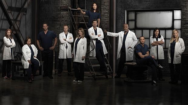 Skuespillerne i sesong 9 av Grey's Anatomy