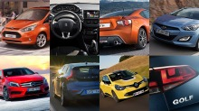 - En av disse kommer til å bli Årets Bil 2013