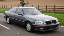 Lexus LS: Diger luksusbil til under 100.000 kroner
