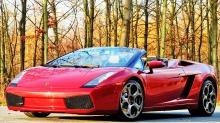 Lamborghini Gallardo Spyder: Dette må være årets julegave