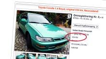 Er dette Europas minst kjørte bruktbil?