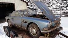 Maserati Sebring: Unik superbil sto på låven i 30 år