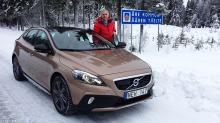 Volvo V40 XC: Tester nykommer i de dype svenske skoger