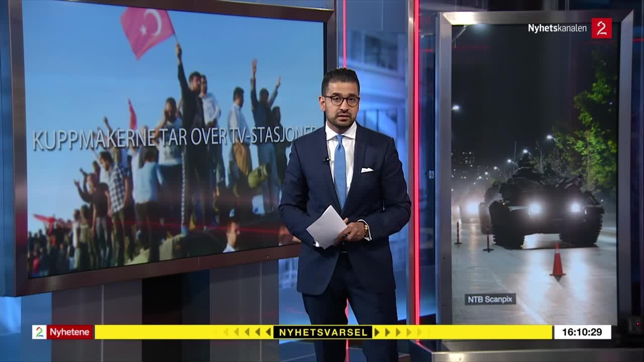 Bilde for: Tyrkia-kaoset på 88 sekunder - dette har skjedd