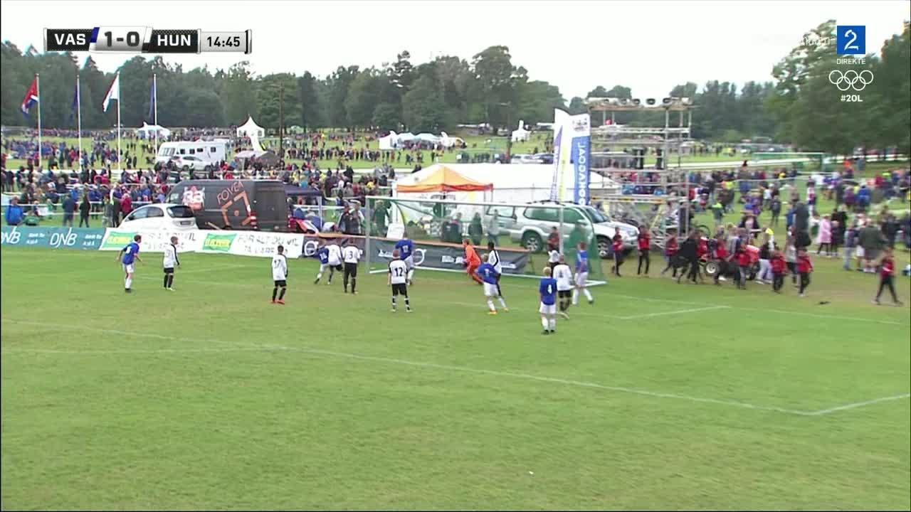Bilde for: Vestre Akers SK går opp i ledelsen mot Hunstad