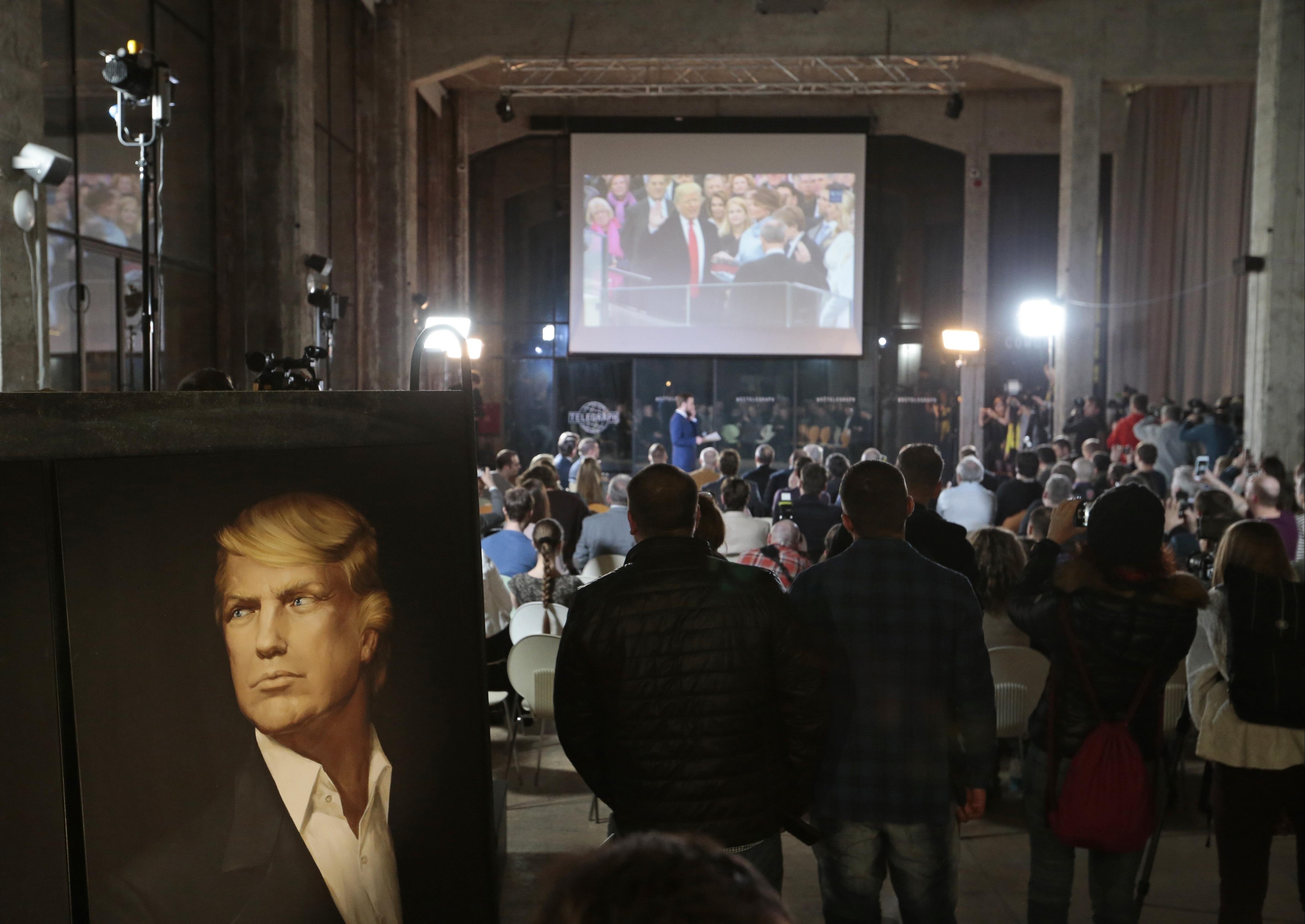 Bilde for: Moskva feirer at Donald Trump har blitt president