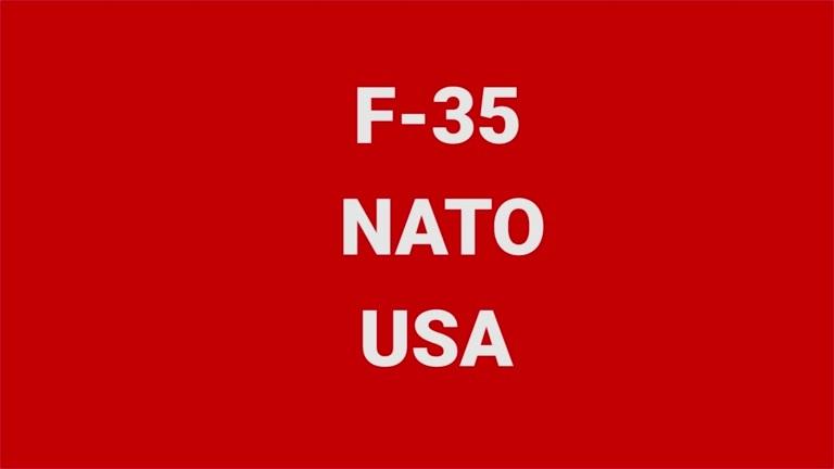 Temasending om F-35, NATO og USA