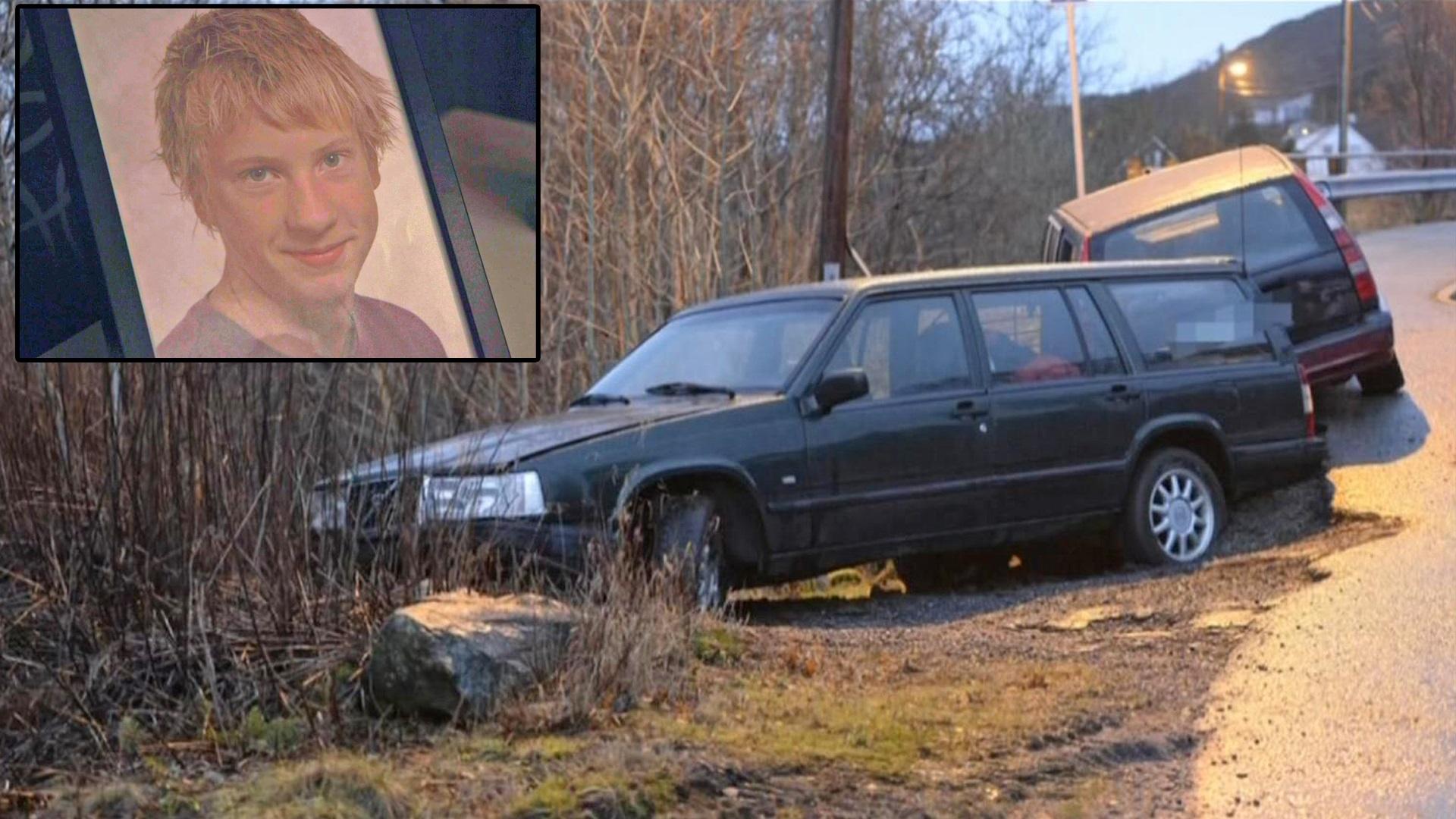 Bilde for: Krasjet bilen og løp fra politiet – siden har ingen sett Fredrik