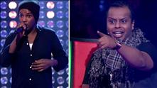 Omar Mohamed Ahmed på blind audition