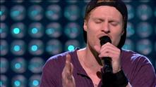 Aleksander Walmann på blind audition