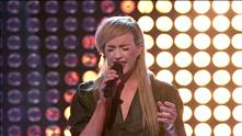 Monika Blomeid på blind audition