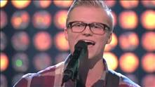 Marius Beck på blind audition
