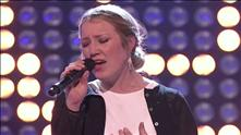 Ida Hanevold på blind audition