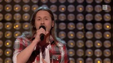 Morten Fredheim på blind audition i The Voice