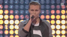 Audun Rensel på blind audition i The Voice