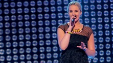 Cecilie Persson Bruserud på blind audition i The Voice