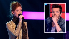 Joanna Deborah Bussinger på blind audition i The Voice