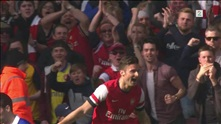Sammendrag: Arsenal - Everton 4-1